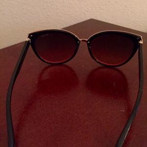 1806ec0b362 Jimmy Choo Accessories - Jimmy Choo Coral   Black Dana Sunglasses